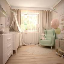 Pokój dziecięcy w pięciu odsłonach 3556