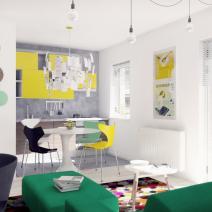 Kolory w mieszkaniu? Pięć inspiracji 3493