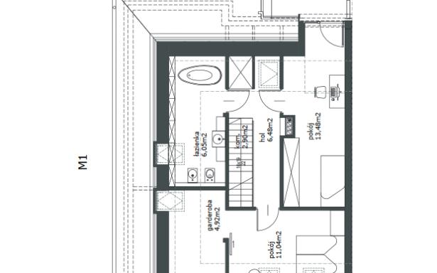 Domy w zabudowie bliźniaczej w Ozorzycach 4484469