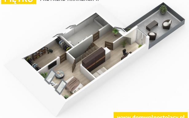 Domy w zabudowie bliźniaczej w Ozorzycach 4484472