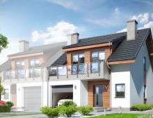 Dom w zabudowie bliźniaczej 120 m2 253025