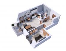 Villa Diamante - Mieszkanie M19- zarezerwowane 239630