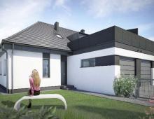 Domy w zabudowie bliźniaczej w Ozorzycach - A.M1 212724