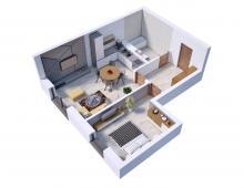 Villa Diamante - Mieszkanie M3 239614