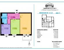 Mieszkanie 2 pokojowe 46,30 m² Wrocław Nadodrze, Biskupa Tomasza Pierwszego 3 249500