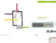 Mieszkanie, na sprzedaż, Wrocław, 26.85 m2 5357163