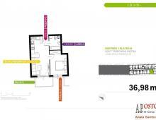 Mieszkanie, na sprzedaż, Wrocław, 36.98 m2 5357179
