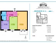 Mieszkanie 2 pokojowe 46,30 m²  Wrocław Nadodrze 5341762