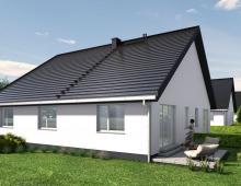 Dom, na sprzedaż, Nadolice Małe, 90.16 m2 5324771