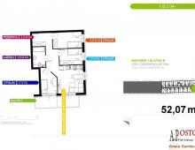 Mieszkanie, na sprzedaż, Wrocław, 52.07 m2 5357171