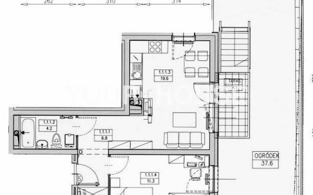Mieszkanie, na sprzedaż, Wrocław, 41.90 m2 3364667