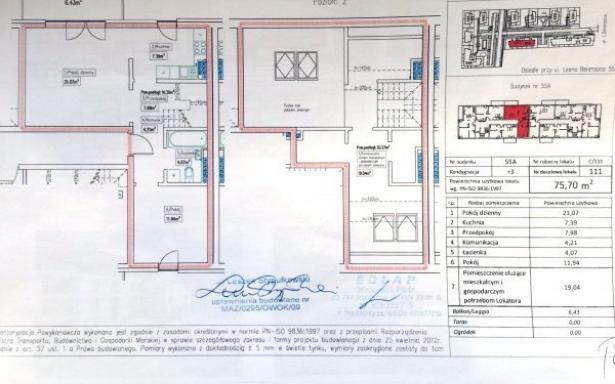 Mieszkanie, na sprzedaż, Warszawa, 75.7 m2 4557067