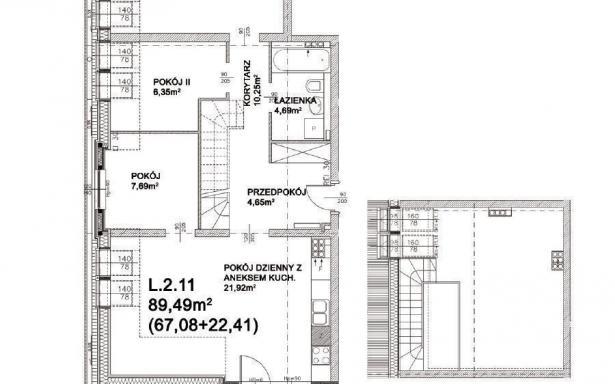 Mieszkanie, na sprzedaż, Wrocław, 89.49 m2 5333126