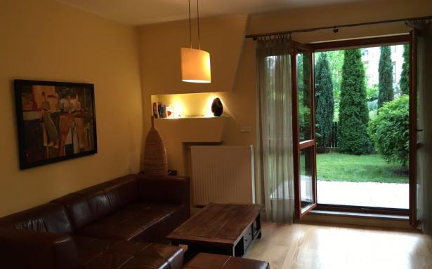 sprzedam bezpośrednio mieszkanie z ogródkiem wilanów 3721616
