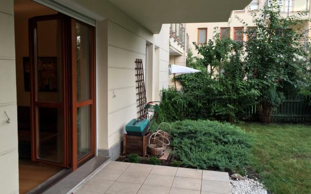 sprzedam bezpośrednio mieszkanie z ogródkiem wilanów 3721610