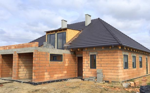 Domy w zabudowie bliźniaczej w Ozorzycach - A.M1 5193286