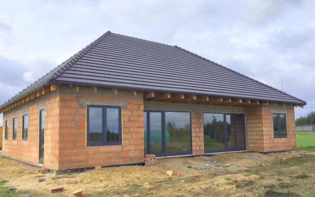 Domy w zabudowie bliźniaczej w Ozorzycach - A.M1 5193285