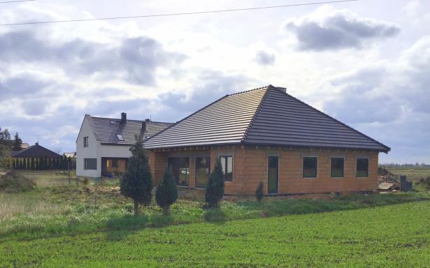Domy w zabudowie bliźniaczej w Ozorzycach - A.M1 5193302