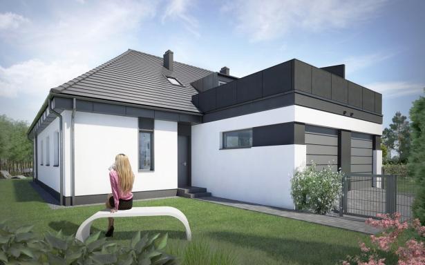 Domy w zabudowie bliźniaczej w Ozorzycach - A.M1 5193287