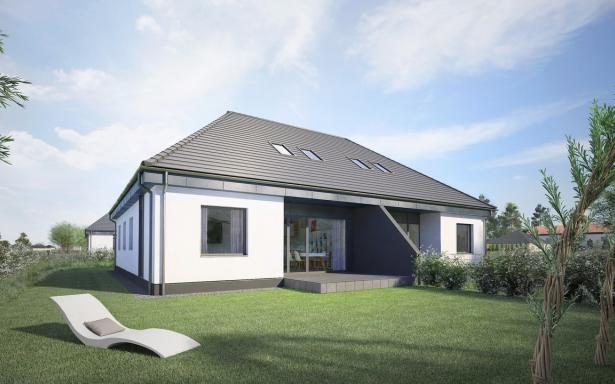 Domy w zabudowie bliźniaczej w Ozorzycach - A.M1 5193272