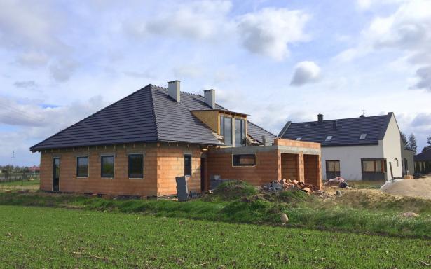 Domy w zabudowie bliźniaczej w Ozorzycach - A.M1 5193295