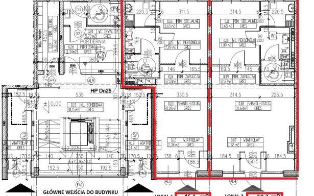Lokal użytkowy na parterze nowoczesnego budynku- pasaż handlowy 5356025