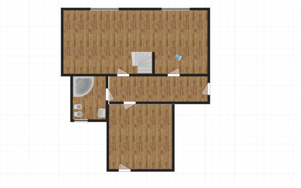 Mieszkanie dwu-piętrowe w kamienicy 107m2 Poznań 5356406