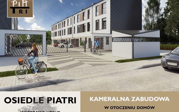 Nowy dom na osiedlu PiaTri, segment Ursus 5357398