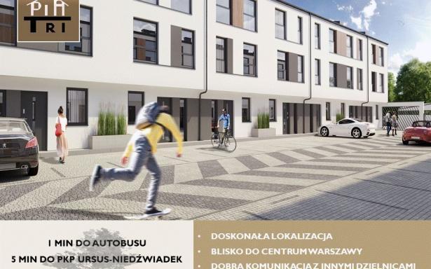 Nowy dom na osiedlu PiaTri, segment Ursus 5357400