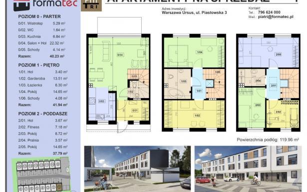 Nowy dom na osiedlu PiaTri, segment Ursus 5357401