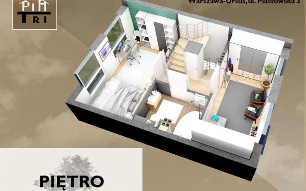 Nowy dom na osiedlu PiaTri, segment Ursus 5357402