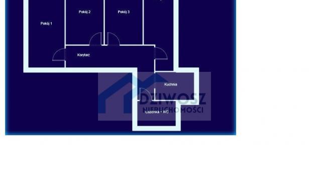 Mieszkanie, na sprzedaż, Wrocław, Henryka Sienkiewicza, 60 m2 5245767