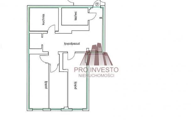 Mieszkanie, na sprzedaż, Wrocław, 62 m2 5284045