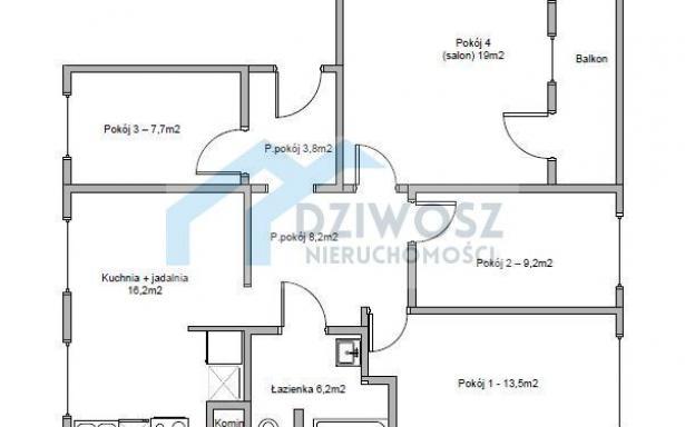 Mieszkanie, na sprzedaż, Wrocław, Hetmańska, 84.3 m2 5245778
