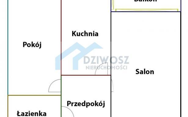 Mieszkanie, na sprzedaż, Wrocław, Litewska, 51 m2 5245874
