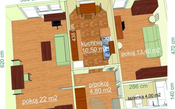 55m2 w budynku z lat 90 tych z windą na Krzykach okolice ulicy Traugutta !!! 3390080