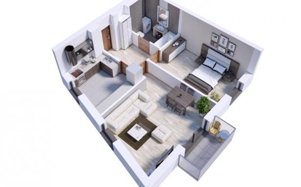 Villa Diamante - Mieszkanie M5 5130374