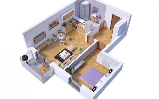 Villa Diamante - Mieszkanie M15 - zarezerwowane 5130382