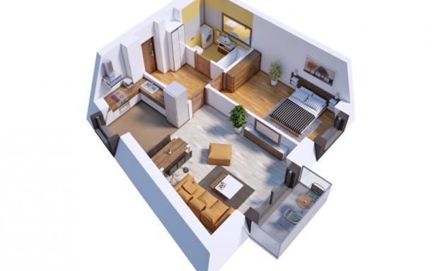 Villa Diamante - Mieszkanie M17 5130384