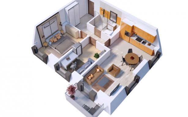 Villa Diamante - Mieszkanie M18 5130385