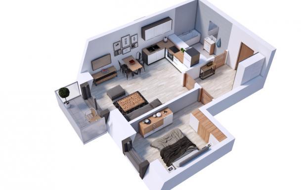 Villa Diamante - Mieszkanie M19 5130386