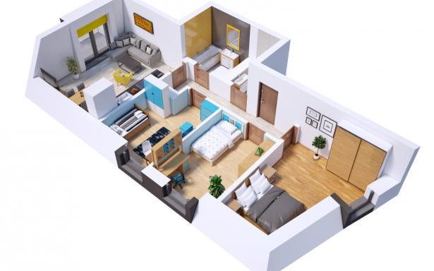 Villa Diamante - Mieszkanie M20 5130387