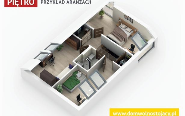 GOTOWE DOMY WOLNOSTOJĄCE - Wrocław/Kryniczno - Bud. A - SPRZEDANY 5178279
