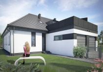 Domy w zabudowie bliźniaczej w Ozorzycach 3281